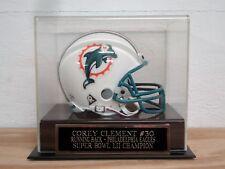 Football Mini Helmet Case With A Corey Clement Philadelphia Eagles Nameplate