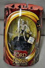 "LORD OF THE RINGS TWO TOWERS TTT SMEAGOL w/ SOUND BASE BATTLE 5 ARMIES 6"" TOYBIZ"