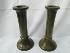 Vintage old wood wooden candle stick stand holder decorative home decor retro