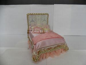 DOLLHOUSE BED- HANDMADE BY SERENA JOHNSON
