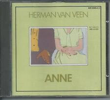 HERMAN VAN VEEN - Anne CD Album 12TR WEST GERMANY 1987 VERY RARE!!