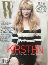 "W Magazine Kirsten Dunst April 2007 Back Issue ""If The Shoe Fits"""