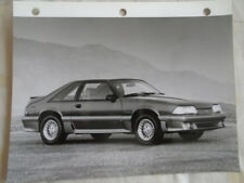 Ford Mustang GT press photo 1988