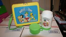 Vintage Popey and Son 1987 Lunch Box and Thermos King Features