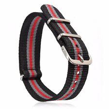 Ballistic Military Nylon Durable Canvas Sports Zulu Nato Wrist Watch Band Strap