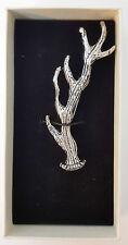 Scottish Antler Chrome Kilt Pin New Gift Boxed Sale Price