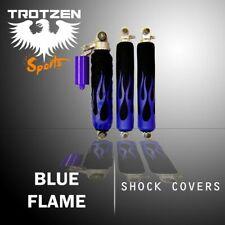 Yamaha raptor 660 Blue Flame Black Shock Cover #mgh3302sc3302