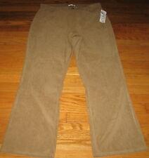 Fashion Bug 16 Beige Stretch Animal Serpent Print Pants NWT 34 x 31 L