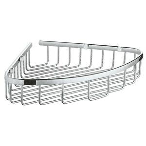 Grohe 40663001 BauCosmopolitan Large Corner Basket, Starlight Chrome