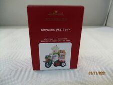 New Listing2020 Hallmark Cupcake Delivery Holiday Parade Series Comp Christmas Ornament