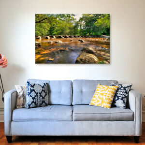 Tarr Steps - Various Sizes - North Devon Canvas - Ready to Hang