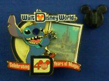 Stitch Cinderella's Castle LE WDW 40th Anniversary Years of Magic Pin # 82213