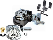 HV4 ROTARY TABLE(3 SLOT) WITH DIVIDING PLATE/INDEXING PLATE & M8 CLAMPING KIT