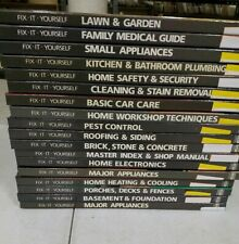 TIME LIFE HOME REPAIR AND IMPROVEMENT BOOK LOT of 18  DO IT YOURSELF BOOKS