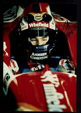 Heinz-Harald Frentzen Foto Original Signiert Formel 1 +G 18610