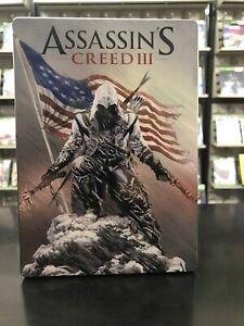 Assassin's Creed III XBox 360 Steelbook Edition