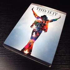 Michael Jackson's - This Is It JAPAN 2xDVD Deluxe Collector's Edition Region 2 *
