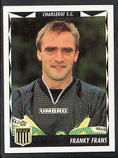 Panini Belgian Football 1999 Sticker - No 105 - Charleroi - Franky Frans