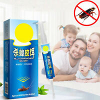 Powerful Anti Cockroach Pesticide Control Gel Bait Drug Poison Nest Syring Home