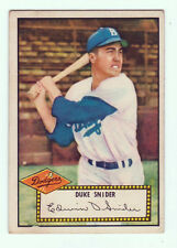1952 Topps Baseball DUKE SNIDER Rookie Card # 37- Brooklyn Dodgers!