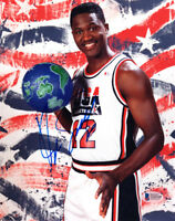 DOMINIQUE WILKINS SIGNED AUTOGRAPHED 8x10 PHOTO TEAM USA VERY RARE BECKETT BAS