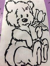 Teddy Bear Vinyl Decal