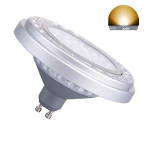LED Dimmable GU10 Base AR111 15W Warm White 3000k Bulb SpotLIGHT Down Lights
