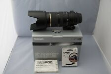 Tamron 70 - 200mm f2.8 Lens for Nikon F (New Other Condition) USA Version