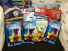 """Paw Patrol"" Birthday Party Supplies, Paddle Ball, Ink Stampers, Napkins, Tattoo"