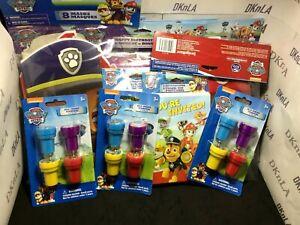 """Paw Patrol"" Birthday Party Supplies, Paddle Ball, Invitations, Napkins, Tattoo"