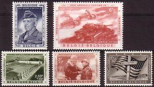 [P203] Belgium 1957 Patton good set very fine MNH stamps val $35