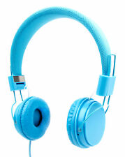 Ultra-Stylish Kids Headphones with Microphone in Blue for Funker W6.0 Pro 2