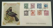 1998 New Zealand Pictorials Centenary Birds Mountains Scenery 8v Stamps FDC