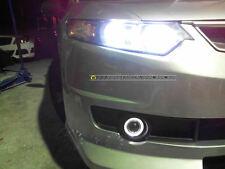 accord euro cu2 mugen style Front bar+angel eye fog lamp- led bumper grill body