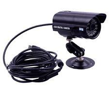Indoor Outdoor Waterproof Wired Bullet USB CCTV Security Camera IR Night Vision
