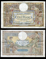 FRANCE 100 FRANCS 1917 P 71 USED/CIRCULATED SEE SCAN