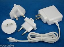 AC Adapter Wall Charger WHITE for Samsung Galaxy Tab 4 3 10.1 8.0 7.0 Kids Lite
