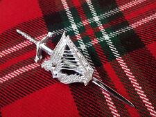 NUEVO Escocesa montaña Celta Irlandés ARPA Broche De Kilt / /