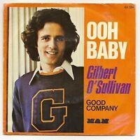 "O'SULLIVAN Gilbert Vinyl 45T 7"" SP OOH BABY   F Reduit"