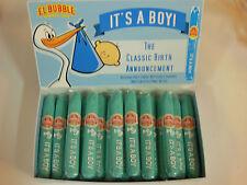 It's A Boy Retro El Bubble Gum Cigar Blue Baby Shower 36 Ct Candy Gluten Free
