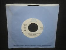"Barry Manilow""I Don't Want to Walk WIthout You"" 45 PROMO Mono/Stereo"