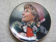 Franklin Mint ~ England'S Rose ~ # Hb4873 ~ Princess Diana Porcelain Plate ~ Coa