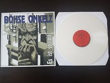 Limited Edition White Vinyl LP Es Ist Soweit - Böhse Onkelz - Metal Enterprises