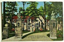 Vintage Postcard Entrance To Southwestern College, Memphis, Tenn. —11