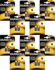 20 X PILAS DURACELL SECURITY LR1 (1.5V) N E90 R1 MN9100 LADY AM5 KN BATTERY
