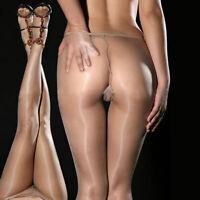 Women Fashion Sexy Sheer Oil Shiny Glossy Pantyhose Tights Stockings Hosiery