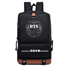 KPOP BTS BANGTAN BOYS Nylon Backpack JUNG KOOK JIMIN V School Bag Travel Sports