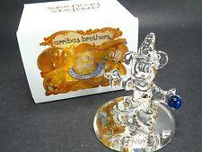 Nib Arribas Mini Crystal Sorcerer Mickey Mouse In Box Walt Disney World Fantasia