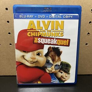 Alvin and the Chipmunks: The Squeakquel (Blu-ray/DVD, 2010, 3-Disc Set)