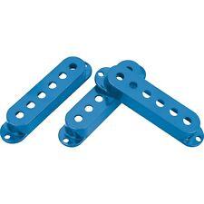 Dimarzio dm2001bl, seule bobine Pickup couvre lot de 3 bleu